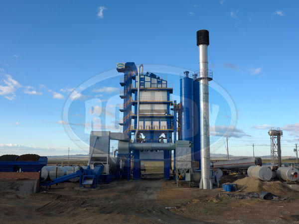 Asphalt Drum Mix Plant Egypt