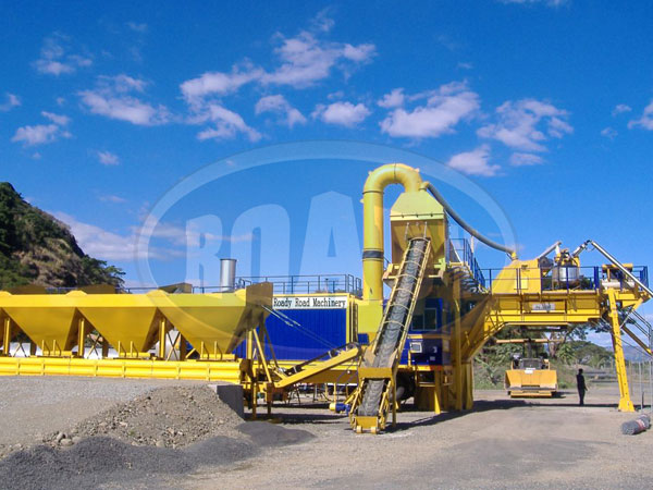 Mobile Asphalt Plant China