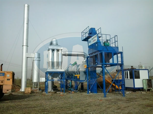 DHB60 Asphalt Plant With Mineral Powder