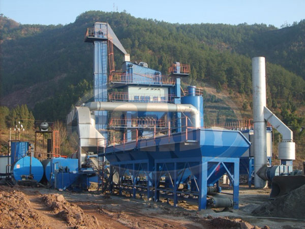 low price asphalt mix plant