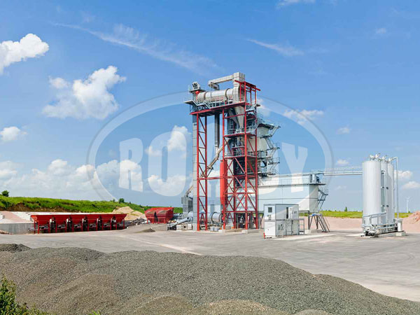 Mobile Mini Asphalt Plant