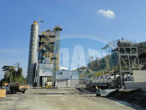 RD200X aphalt mixing plant shipping to the Malaysia