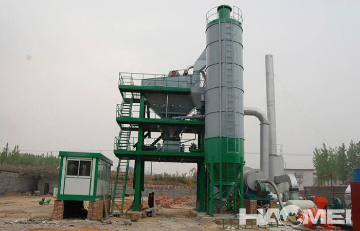 asphalt mix plant mini