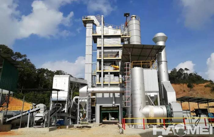 china asphalt batch mix plant manufacturers